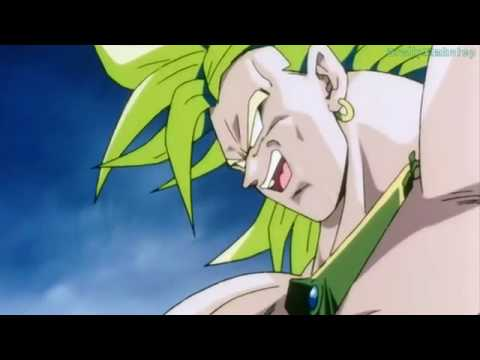 Dragon ball Z - Broly breaks free