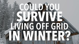 getlinkyoutube.com-Could You Survive ONE DAY Living Off Grid in WINTER?