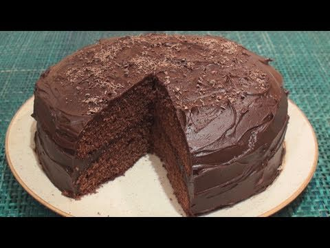 Chocolate Fudge Cake -MecUxWvrfF0