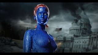 getlinkyoutube.com-X - Men: Mystique | Rebecca Romijn & Jennifer Lawrence | Backstage - Digital Domain