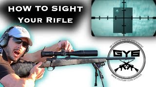 getlinkyoutube.com-Fastest Way to Sight in a Rifle