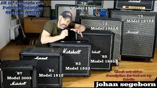 7 Marshall Speaker Cabinet Comparison - Shootout