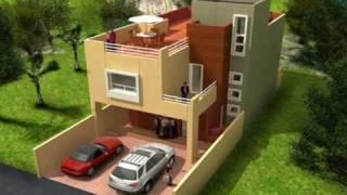Download video vivienda urbana autocad 3d for Casa minimalista 6x15