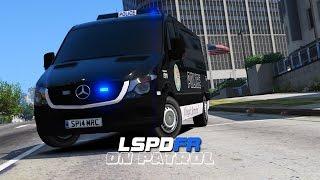 getlinkyoutube.com-LSPDFR - Day 137 - Mercedes Sprinter