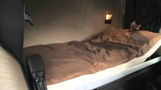 getlinkyoutube.com-Der neue MB Actros MP4 (3/23) : Betten   -   Video ..........Oeni