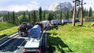 getlinkyoutube.com-Euro Truck Simulator 2 Multiplayer | Long Convoy | Turkey | TRUCKMP | Gameplay | Part #2 |