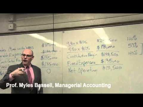 7 of 10 Managerial Accounting Basics 7 Cost Volume Profit