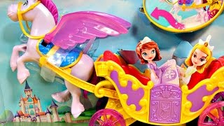 getlinkyoutube.com-Flying Minimus and Carriage / Królewska Karoca - Sofia The First / Jej Wysokość Zosia