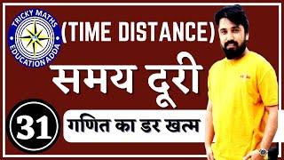 समय,चाल और दूरी (Time, Speed & Distance )    Maths Tricks in Hindi-2018 Railway SSC Bank IBPS Ak Sir