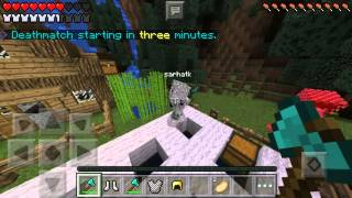getlinkyoutube.com-Geri Döndüm !! (MCPE Hunger GAMES)  #4