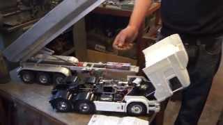 getlinkyoutube.com-Tamiya Wedico Tipper Mechanism controls