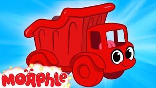 getlinkyoutube.com-My Red Dumptruck - My Magic Pet Morphle Episode #26 (plus extra episodes)