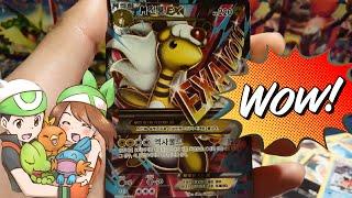 getlinkyoutube.com-포켓몬스터 카드 밴디트링 박스 개봉! EX다! 포켓몬카드 개봉기 1부