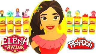getlinkyoutube.com-Prenses Elena Sürpriz Yumurta Oyun Hamuru - Prenses Elena Oyuncaklar LPS Barbie
