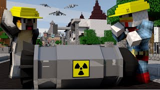 getlinkyoutube.com-Minecraft | NUCLEAR BOMB CHALLENGE - Nuclear Finale! (NUKE VS CITY)