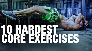 getlinkyoutube.com-Top 10 Hardest Core Exercises! How Many Could You Do?