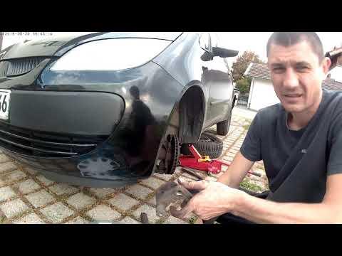 Замена тормозных дисков мицубиси кольт