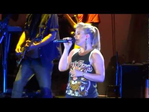 Kelly Clarkson &quot;Break Away&quot; Hollywood Bowl 2012