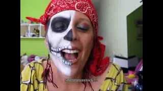 getlinkyoutube.com-Maquiagem artística - Inspiração: Pirata do Caribe