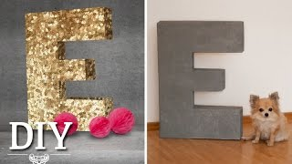 getlinkyoutube.com-DIY: Riesige Deko-Buchstaben selber machen   Deko Kitchen