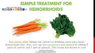 getlinkyoutube.com-Hemorrhoids Home Treatment - Relief Recipes
