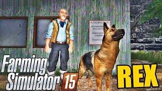 getlinkyoutube.com-Farming Simulator 2015 - Brincando com o Rex