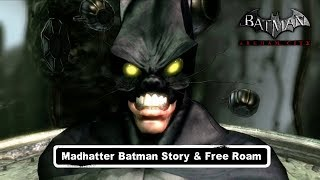 getlinkyoutube.com-MESH; Batman; Arkham City; Madhatter Batman Free Roam
