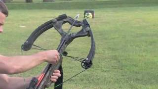 getlinkyoutube.com-Magnus Broadhead test at 350 feet per second!