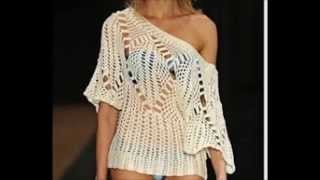 How to Crochet Blouse Free Tutorial