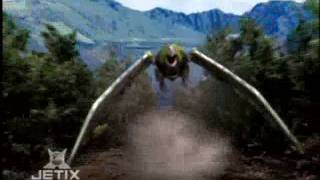 Power Rangers Wild Force - The Power Rangers summon the Wild Zords