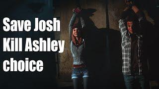 getlinkyoutube.com-Until Dawn - Save Josh / Kill Ashley Choice