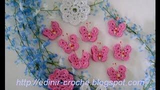 getlinkyoutube.com-CROCHE - BORBOLETA MODELO 001 - PARTE 1