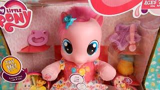 getlinkyoutube.com-Learn to Walk Pinkie Pie My Little Pony Baby Black Friday Walmart