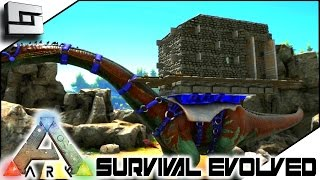 getlinkyoutube.com-ARK: Survival Evolved - BRONTO PLATFORM SADDLE BASE! S3E23 ( Gameplay )