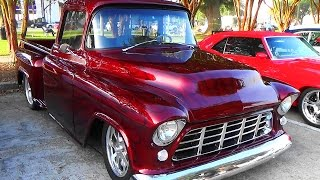 getlinkyoutube.com-1955 Chevy Street Truck Cruisin The Coast 2014