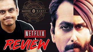 NETFLIX - SACRED GAMES (series) | SAIF ALI KHAN, Nawazuddin Siddiqui (FULL REVIEW)