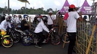 Event drag bike di cicangkal