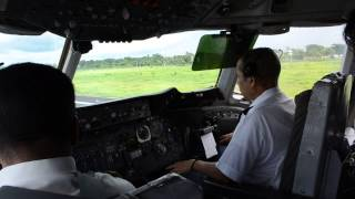 getlinkyoutube.com-Biman Bangladesh DC10 Take off cockpit video!