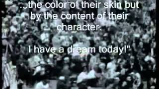 "getlinkyoutube.com-Martin Luther King ""I have a dream""   with Subtitles"