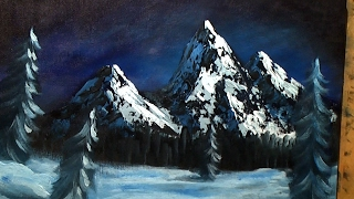 getlinkyoutube.com-Acrylic Snowy Mountain -  Full Episode