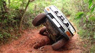 getlinkyoutube.com-Trilha do Pinheirinho, Serra do Japi  - Troller T4 - Discovery - Ranger - Hilux SW4