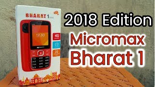 Micromax Bharat 1 (2018) Edition | Unboxing | Review | Jio Phone Killer | Must Watch width=