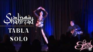 Shahrzad and Issam Houshan tabla solo