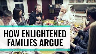 Hoe spirituele families met elkaar discusiëren