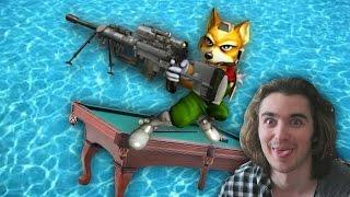 getlinkyoutube.com-Super Sniping Pool Party - 1v1 vs Red Nicks