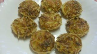 getlinkyoutube.com-Mini tarte à l'oignon - Comment faire des tartelettes aux oignons