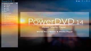 getlinkyoutube.com-CyberLink PowerDVD 14 0 3917 58 Ultra. Play virtually any media