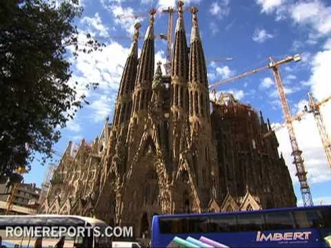 Pope will visit Gaudi's Sagrada Familia  Medieval Temple for the 21st Century