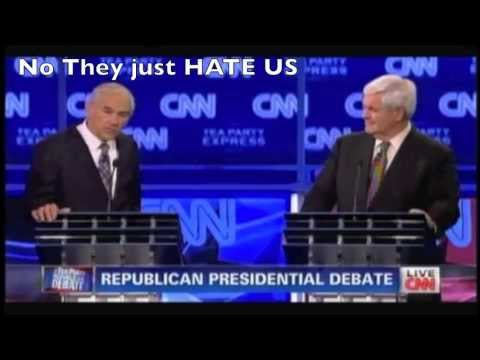 Why Ron Paul was BOOed CNN - 92% of Surveyed Afghans Hate our Freedoms