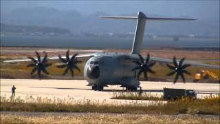 getlinkyoutube.com-RAF AIRBUS A400M at MIHO AIRBASE 英国空軍A400M輸送機美保基地飛来